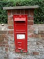 Victorian post box at Donnington - geograph.org.uk - 567932.jpg