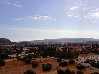 village in Limassol District, Cyprus
