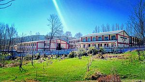 Poonch Medical College - Image: View of Poonch Medical College in Mid March