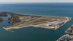 View of Toronto City Airport from CN Tower 20170417 1.jpg