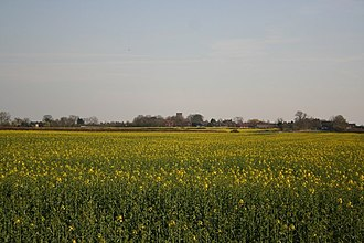 Ingleby, Lincolnshire - Image: View to Saxilby geograph.org.uk 389608