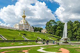View to the Lower Park of Peterhof 03.jpg