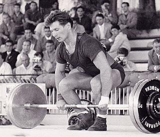 Viktor Bushuev Russian weightlifter