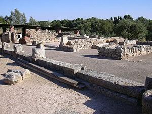 Fraga - Image: Villa Fortunatus Vista del ala sur