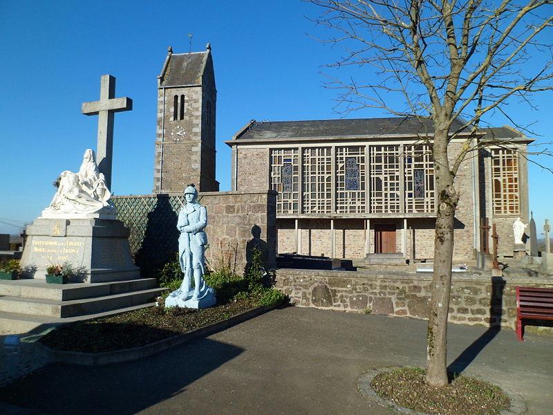 Église Sainte-Anne de fr:Villebaudon
