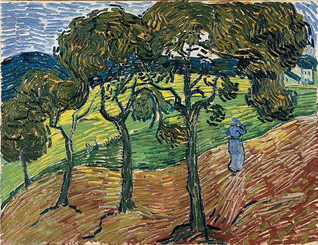 File Vincent Van Gogh Landscape With Figures 1889 Oil