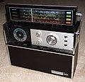 Vintage RCA Strato-World Mark One World Radio, Model RZM 198EX, Solid State, 8 Bands, AC-DC, Circa 1969 (14545142682).jpg
