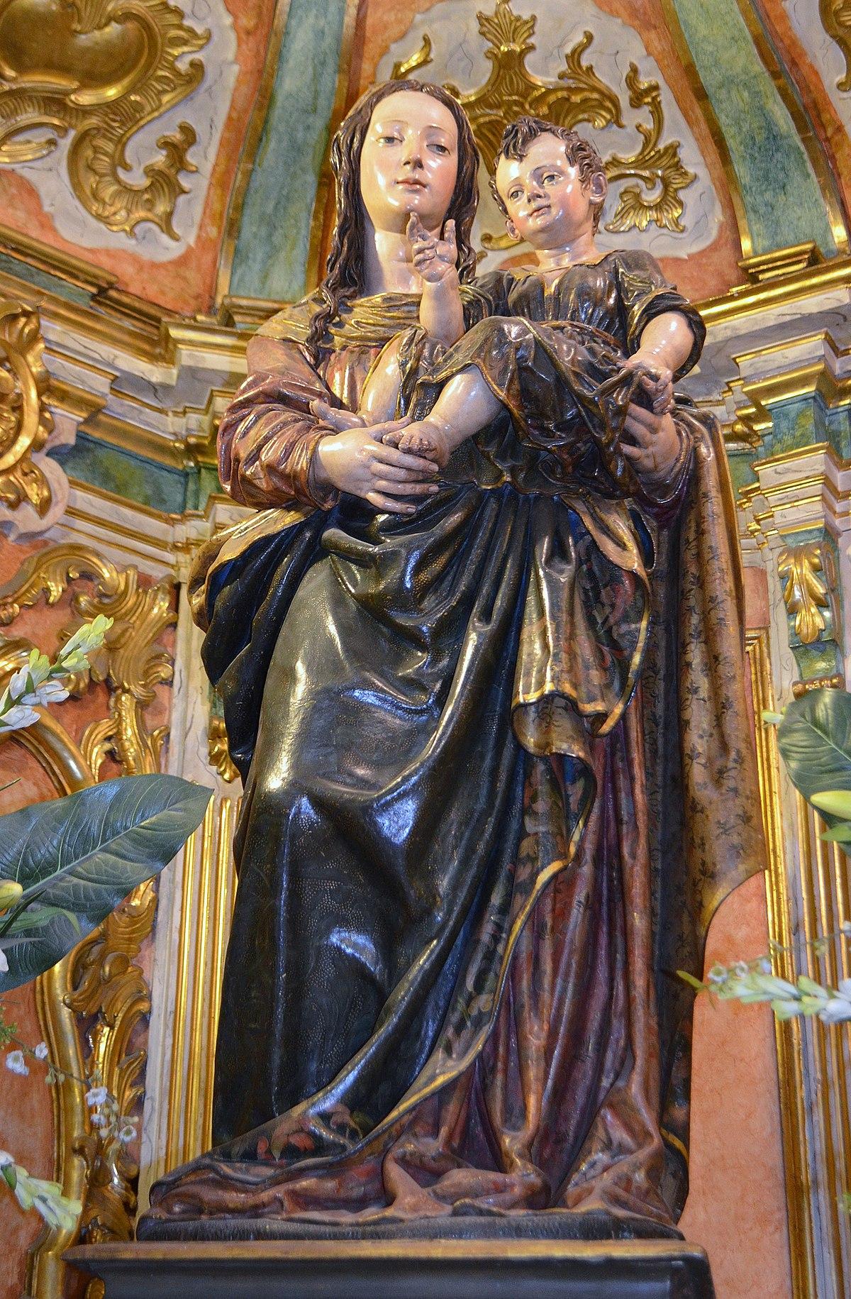 Virgen De La Cinta Catedral De Huelva Wikipedia La Enciclopedia