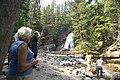 Visitors at Baring Falls (4482110146).jpg
