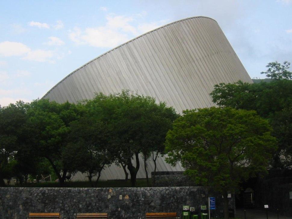 Vista lateral museo Alfa
