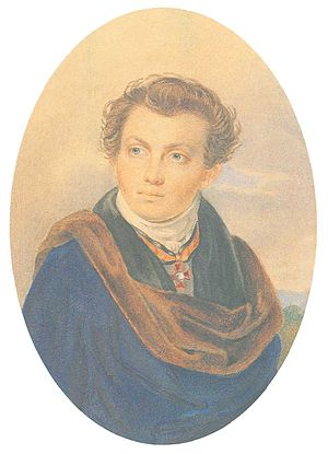 Aleksandr Vitberg - Portrait of Alexander Vitberg
