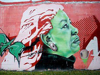 Toni Morrison - Image: Vitoria Graffiti & Murals 0392