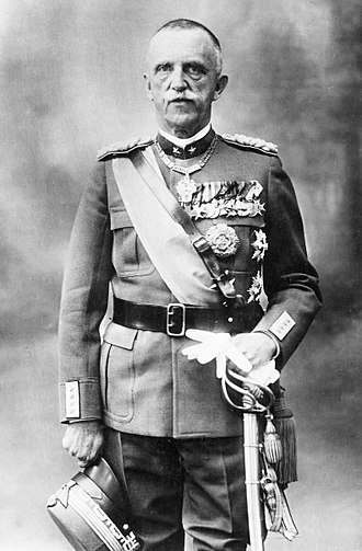 Fall of the Fascist regime in Italy - King Victor Emmanuel III of Savoy, citing formal respect for the constitution, insisted on a vote of no confidence as prerequisite before replacing Mussolini