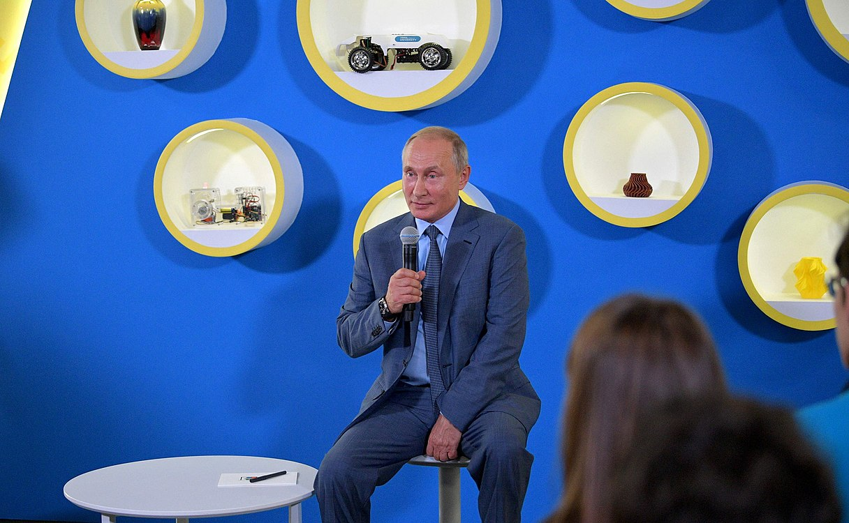 Vladimir Putin visited the Sirius Educational Centre (2018-09-01) 14.jpg