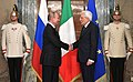 Vladimir Putin with Sergio Mattarella (2019-07-04) 07.jpg