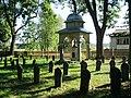 Vojenský hřbitov (Olomouc), pohled směrem k železnici.JPG