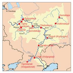volgograd kart Saratov demningen – Wikipedia