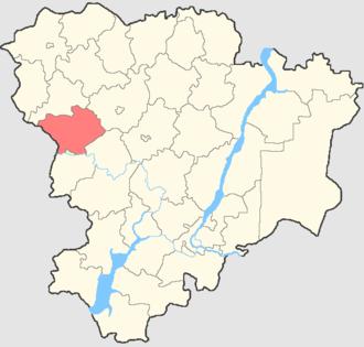 Kumylzhensky District - Image: Volgogradskaya oblast Kumylzhensky rayon