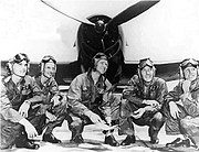 Voris and 1st Blue Angel team 1946