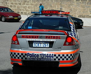 Western Australia Police TE204 - Traffic Enfor...