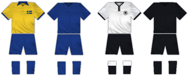 WC1958 semifinal kits