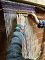 WEAVING WITH A LOOPED PILE WEFT ON THE WARP-WEIGHTED LOOM.jpg