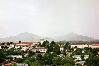 Western New Mexico University - Image: WNMU campus scenic