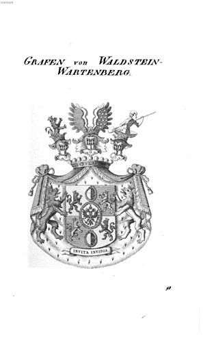 Waldstein family - Arms of the Counts of Waldstein