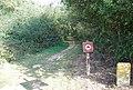 Walking Only^ - geograph.org.uk - 1526454.jpg