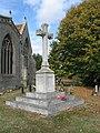 War Memorial, All Saints Church at Marsworth - geograph.org.uk - 1526563.jpg