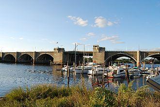 Washington Bridge (Providence, Rhode Island) - Washington Bridge, Providence