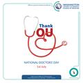 Washington University of Barbados - National Doctor's Day.png