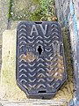 Water Inspection Cover, The Street, Themelthorpe - geograph.org.uk - 1604138.jpg
