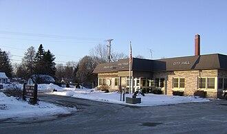 Wautoma, Wisconsin - Image: Wautoma city hall
