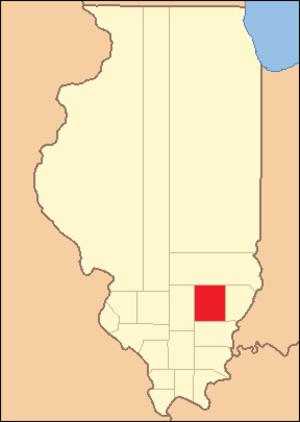 Wayne County, Illinois - Image: Wayne County Illinois 1819
