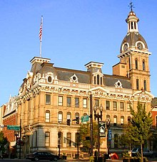 Wayne County courthouse (Wooster)