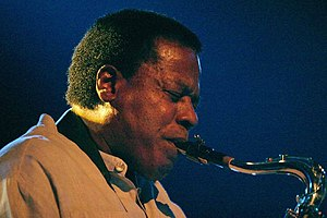 Wayne Shorter - Shorter performing in 2006