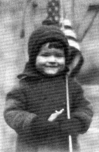 Orson Welles - Orson Welles at age three (1918)