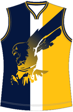 Golden Gate Australian Football League - Image: West Coast Eagles Jumper