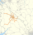 West Midlands Railway route map 2018.png