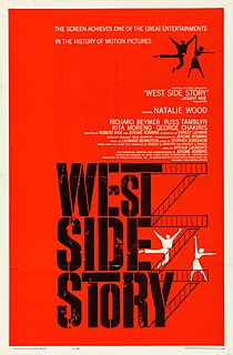 <i>West Side Story</i> (1961 film) 1961 film by Robert Wise, Jerome Robbins