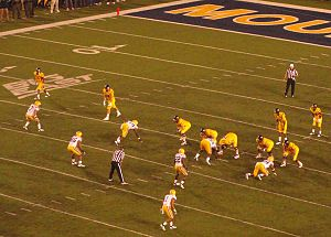 2011 LSU vs. Alabama football game - The LSU defense against the West Virginia offense in Week 4.