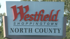 Westfield North County - Image: Westfield North County Sign