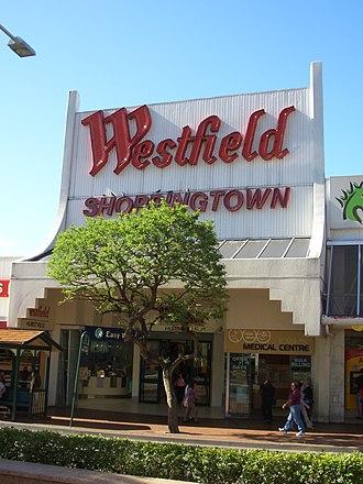 Westfield Hurstville - Entrance from Forest Road