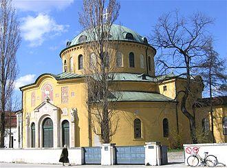 Westfriedhof (Munich) - Westfriedhof, east side