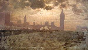 Giuseppe De Nittis - Image: Westminster Bridge (1878) De Nittis