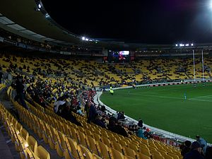 Wellington Phoenix FC - Westpac Stadium, home ground of Wellington Phoenix