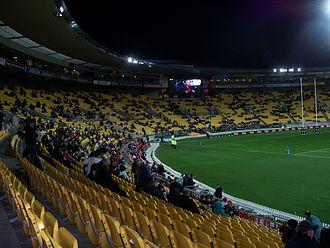 Wellington Phoenix FC - Westpac Stadium, home ground of Wellington Phoenix
