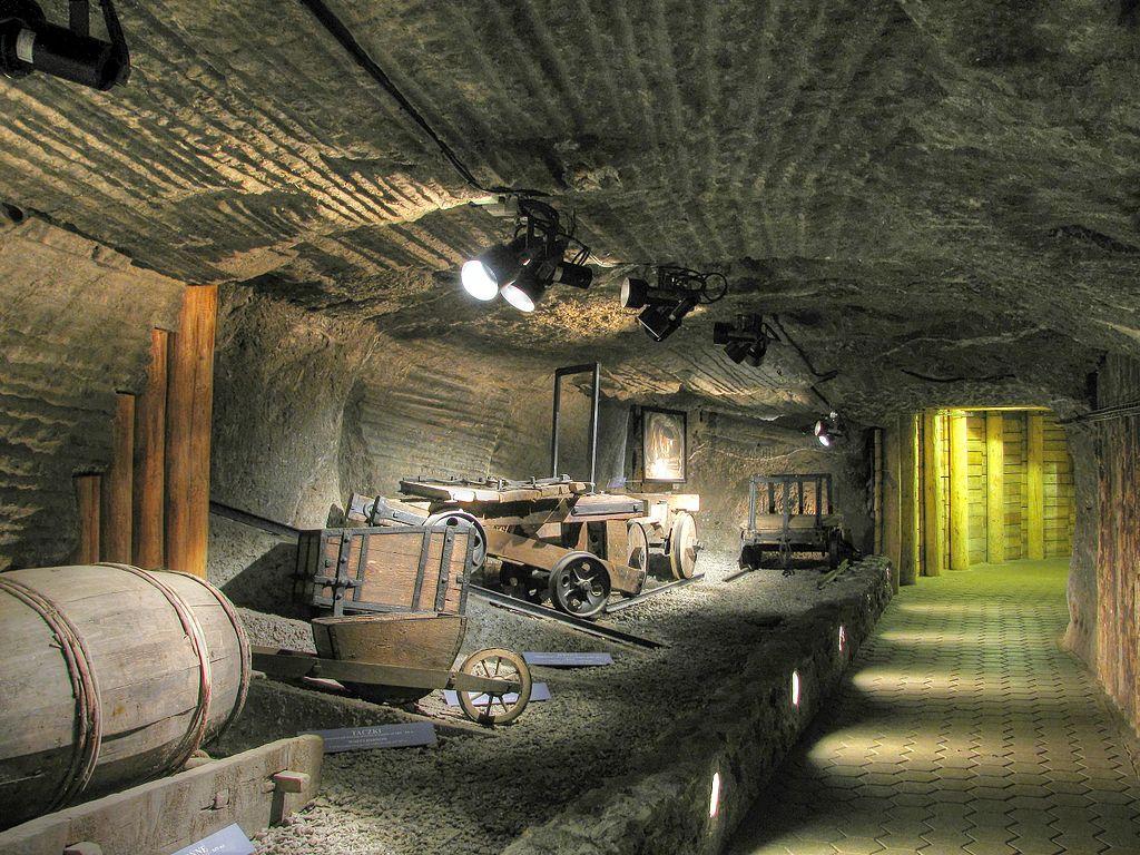 Musée des techniques d'extraction du sel à Wieliczka. Photo de Damir-zg.