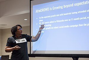 Racial bias on Wikipedia - Sherry Antoine of AfroCROWD presents at WikiConference North America, August 2017